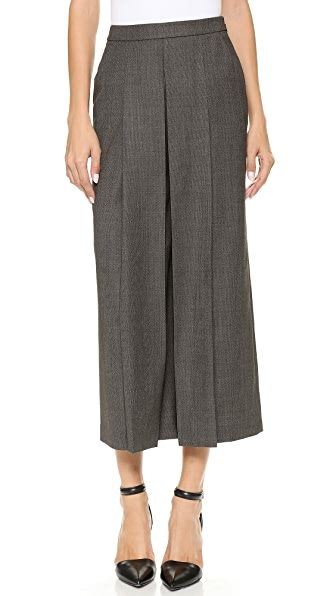 Alexander Wang High Waisted Pleated Trousers