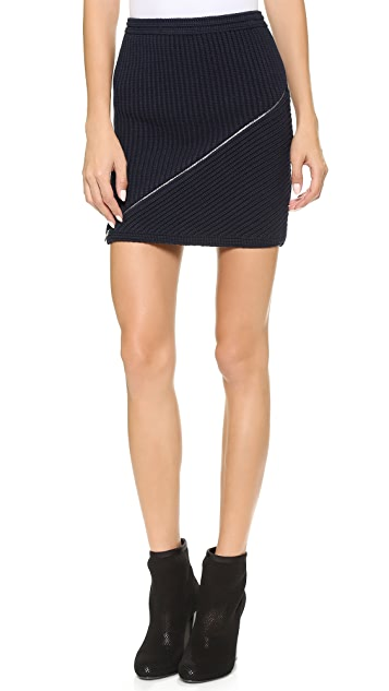 Alexander Wang Zip Peel Away Skirt