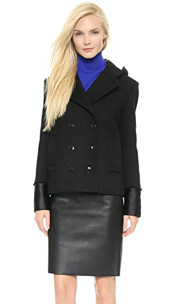 Alexander Wang Double Breasted Pea Coat