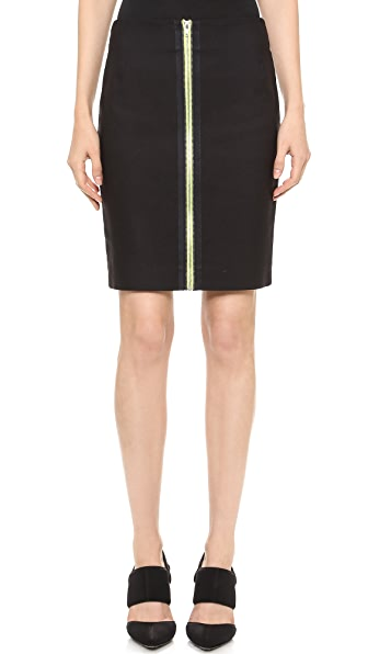 Alexander Wang Double Zip Pencil Skirt