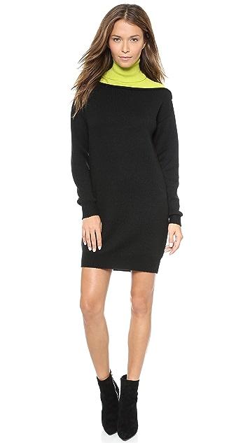 Alexander Wang Turtleneck Sweater Dress