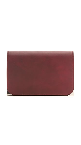 Alexander Wang Prisma Heat Tech Envelope Clutch