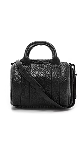 Alexander Wang Rockie Duffel with Matte Black Hardware