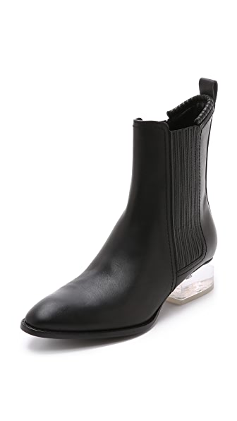 Shop Alexander Wang online and buy Alexander Wang Anouck Boots Black/Lucite shoes online