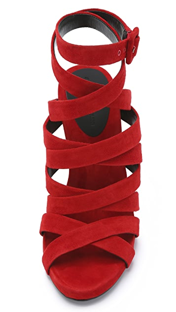 Alexander Wang Nora Ankle Strap Sandals