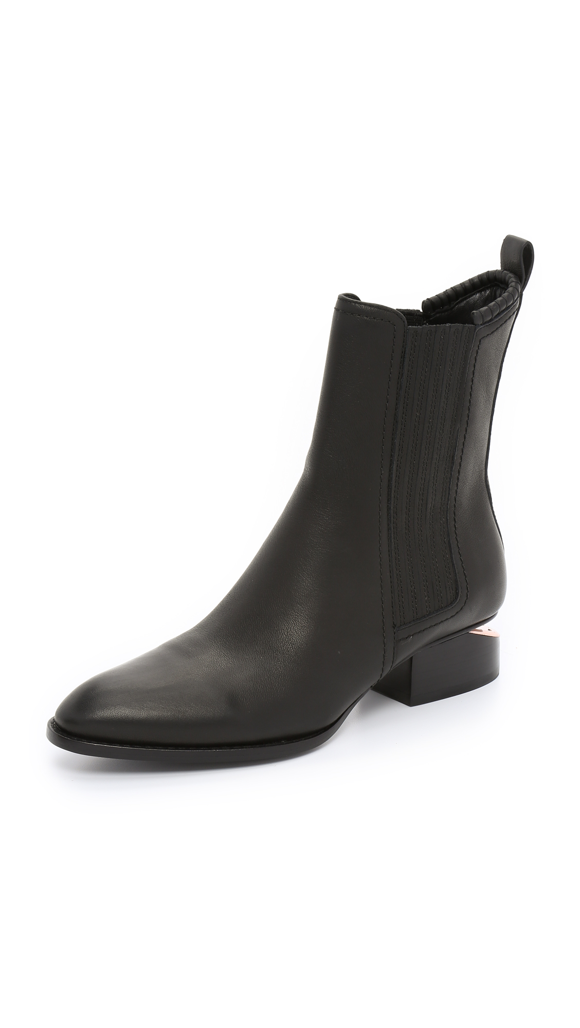 Photo of Alexander Wang Anouck Boots Black-Rose Gold - Alexander Wang online