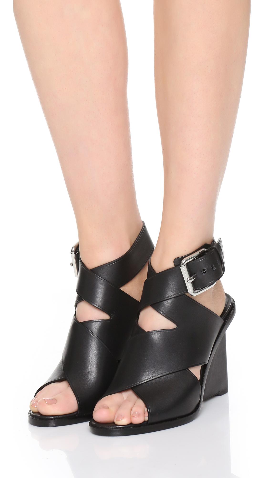 Elisa sandals - Black Alexander Wang 8mMnCb