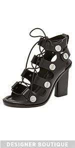 Ilse Lace Up Sandals                Alexander Wang