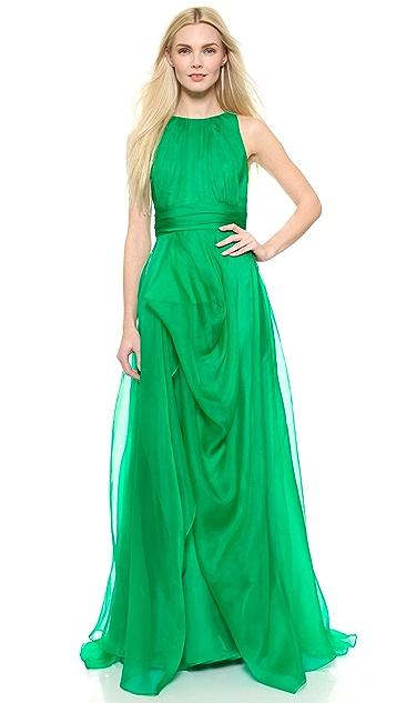 Badgley Mischka Collection Organza Ball Gown