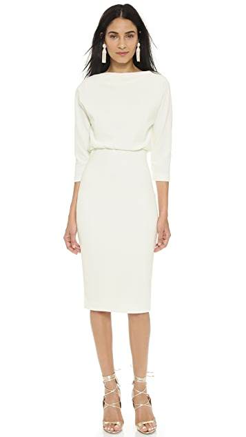 Badgley Mischka Collection Long Sleeve Dress