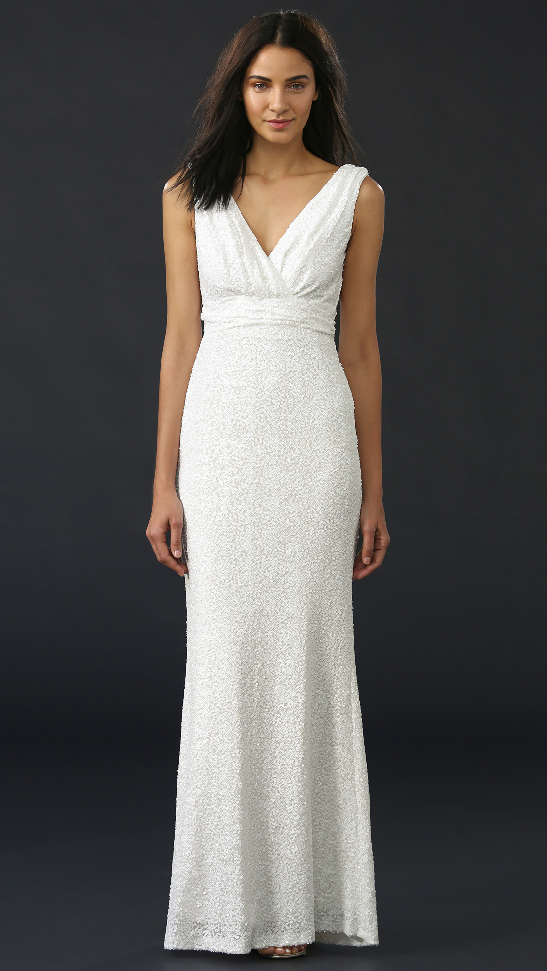 Badgley Mischka Collection Belle Carmen Gown | SHOPBOP
