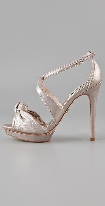 Badgley Mischka Wallis Platform Sandals