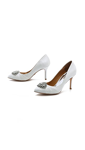 Badgley Mischka Pegasus Point Toe Pumps