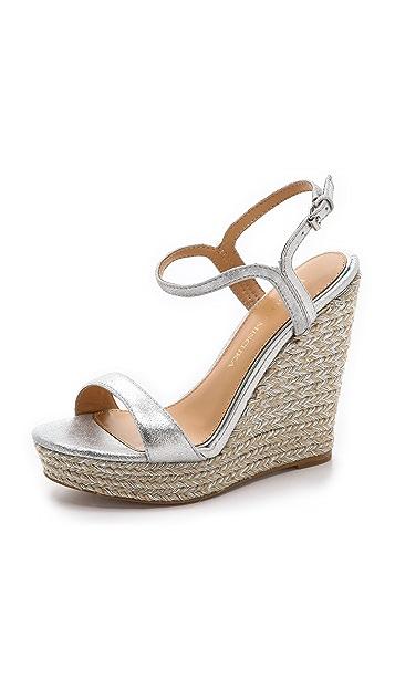Badgley Mischka Kleo Espadrille Wedge Sandals