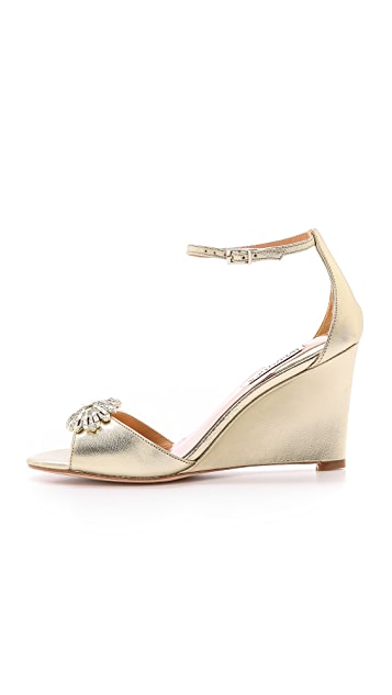 Badgley Mischka Harmony II Wedge Sandals
