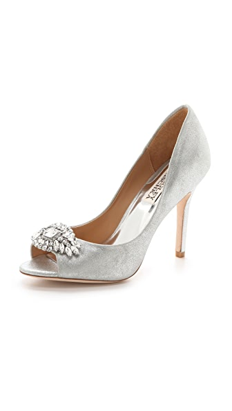 Badgley Mischka Lavender Pumps