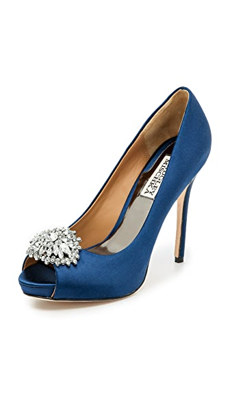 Badgley Mischka Jeannie Peep Toe Pumps