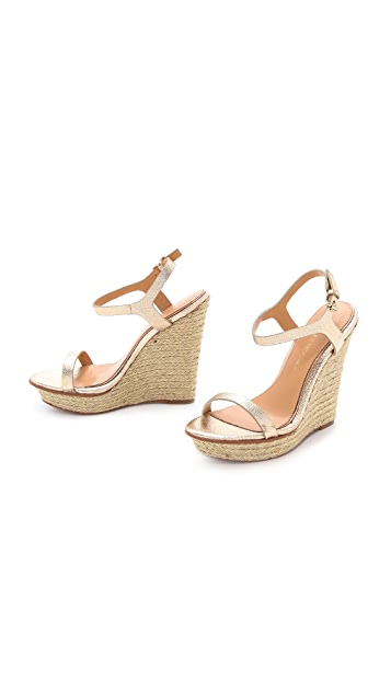 Badgley Mischka Glenna Espadrille Wedges