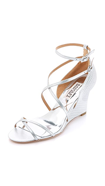 Badgley Mischka Melany II Wedge Sandals