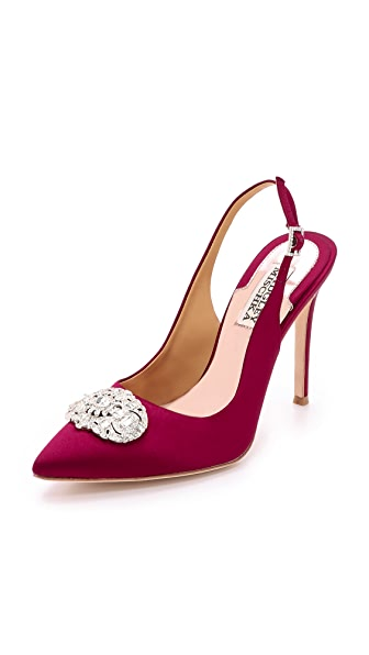 Kupi Badgley Mischka online i prodaja Badgley Mischka Sansa Sling Back Pumps Garnet Red haljinu online