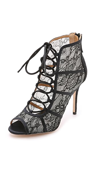 Badgley Mischka Sherry Lace Booties