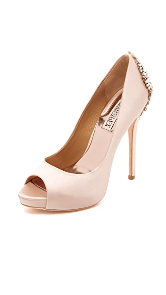 Badgley Mischka Kiara Pumps - Blush