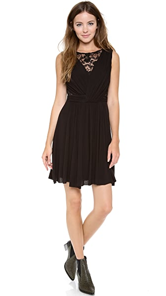 Bailey44 Sleeveless Dress with Lace Detail