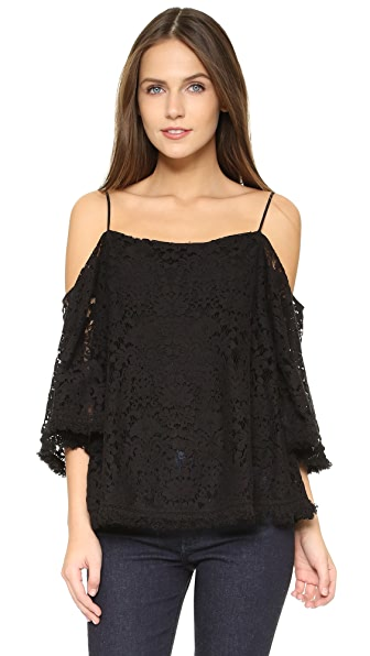 Bailey44 Tusk Lace Top - Black