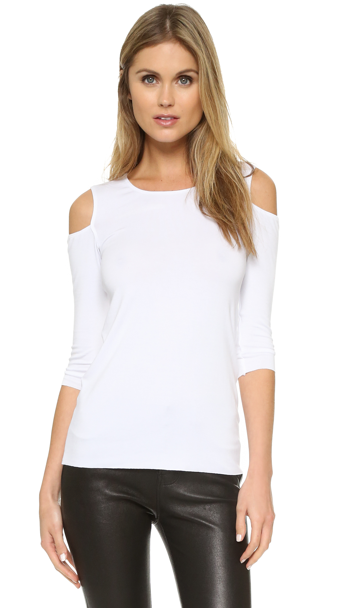 Bailey44 Deneuve Top - White