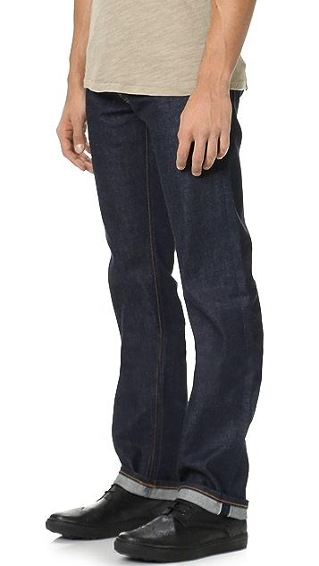 Baldwin Denim Reed Dry Classic Straight Jeans