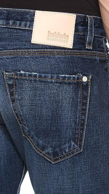 Baldwin Denim Reed Washed Jeans