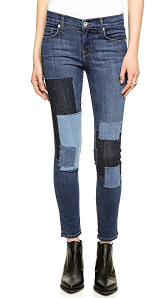 Baldwin Denim The Rivington Skinny Crop Jeans