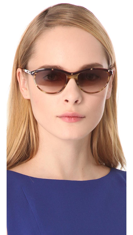 645a0b5da46dd Balmain Anna Cat Eye Sunglasses