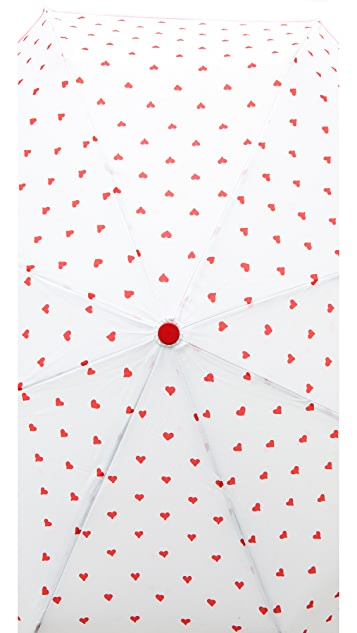 ban.do Rain or Shine Super Cute Hearts Umbrella
