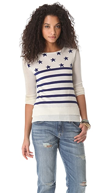 Banjo & Matilda Stars and Stripes Pullover