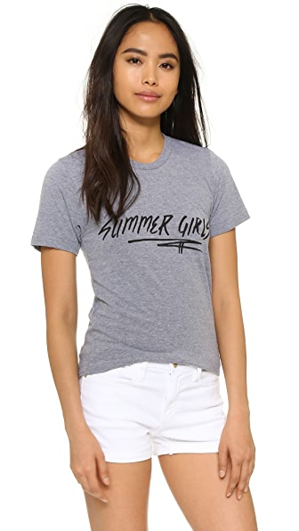 Barber Summer Girls Tee
