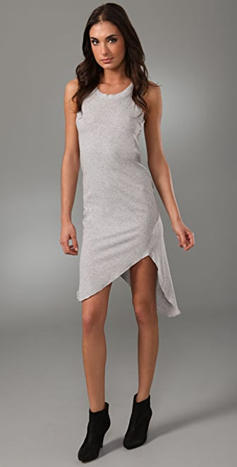 Bassike Tie Back Dress