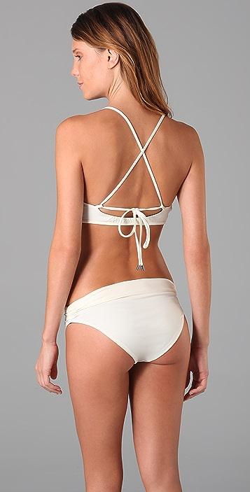 Basta Surf Pleated Reversible Bikini