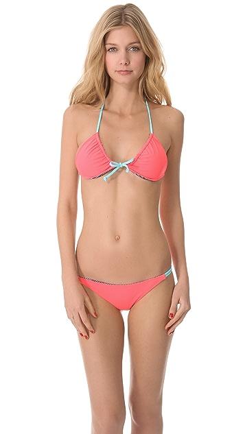 Basta Surf Julie Henderson x Basta Surf Palmas Reversible Bikini Bottoms