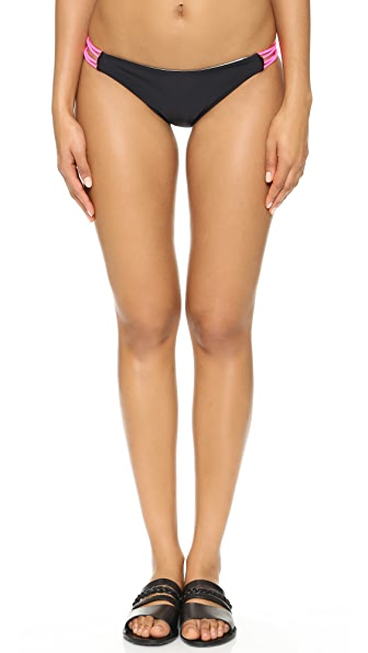 Basta Surf Zunzal Reversible Bikini Bottoms - Black at Shopbop