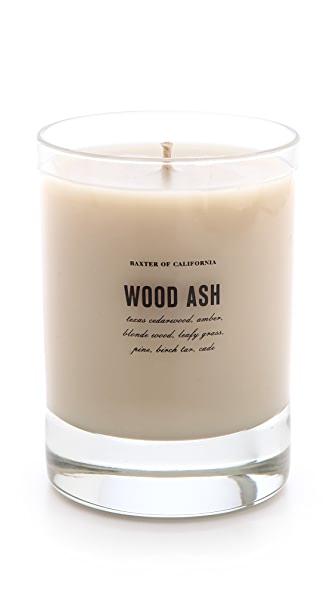 Baxter of California Wood Ash Candle