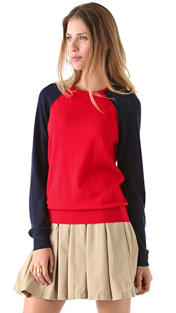 Band of Outsiders Raglan Cashmere Sweater