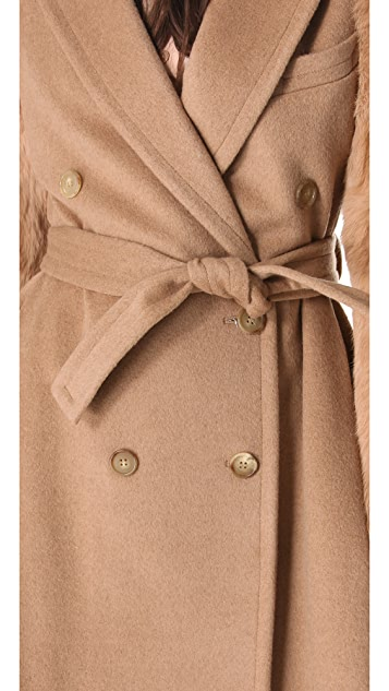 Band of Outsiders Camelhair Trench Coat