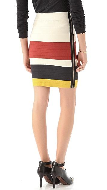 Band of Outsiders Suspender Tape Skirt