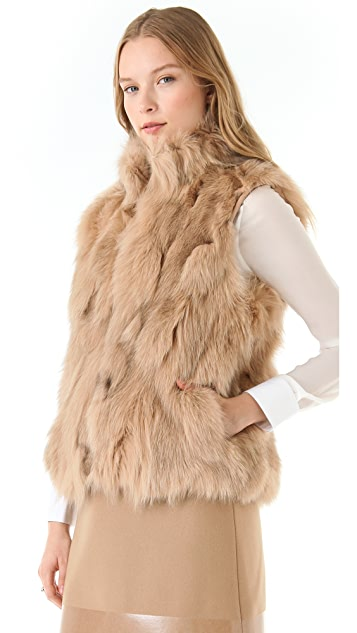 Band of Outsiders Fur Vest