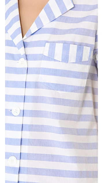 Band of Outsiders Awning Stripe Shirt