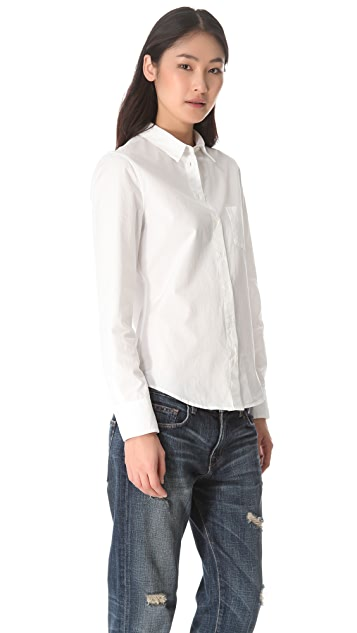Band of Outsiders Poplin Easy Shirt
