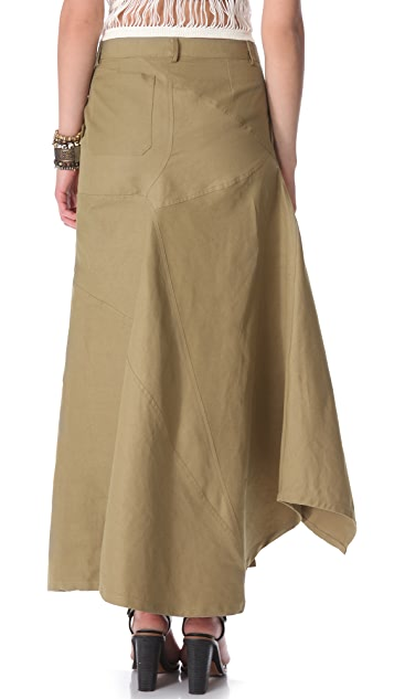 Band of Outsiders Long Skirt