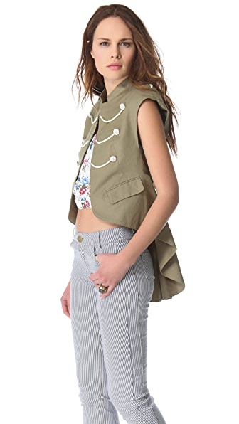 Band of Outsiders Army Gilet
