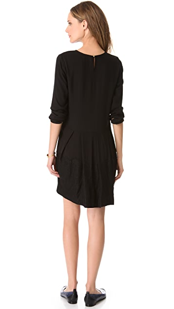 Band of Outsiders Wool Lace Dress